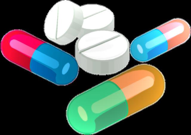 tablety s pilulkami