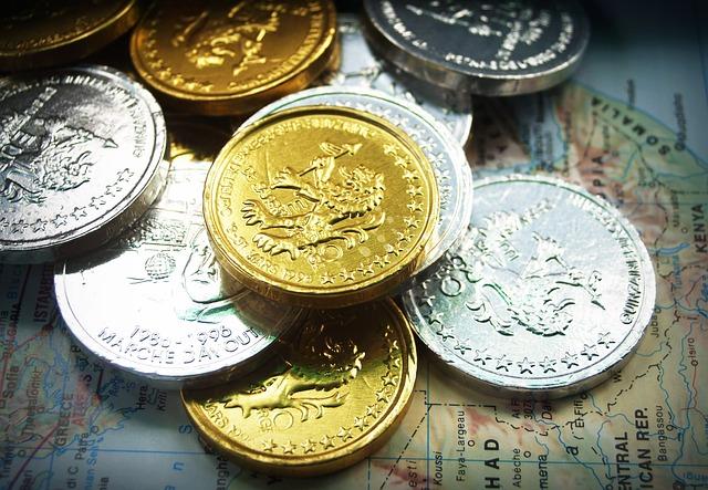 třpytivé mince