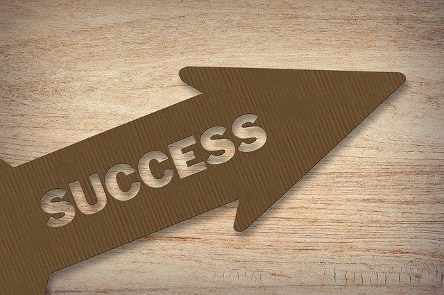 šipka success nahoru