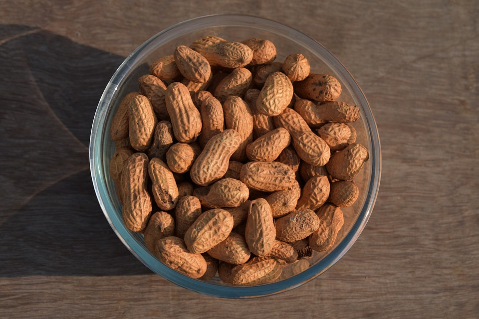 skladování arašídů